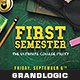 College Party Flyer/Poster - GraphicRiver Item for Sale