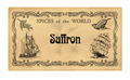 Spice label Saffron - PhotoDune Item for Sale
