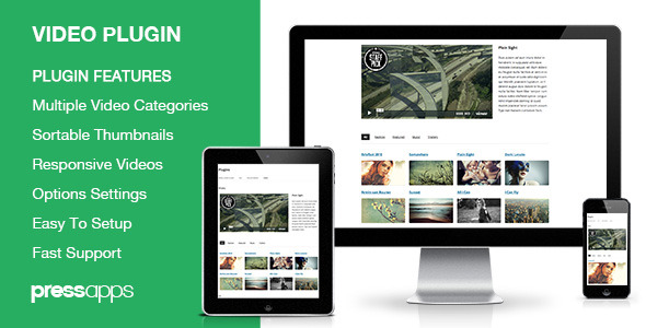 CodeCanyon Sortable Video Embed Plugin 5610823