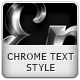 Chrome Text Style - GraphicRiver Item for Sale