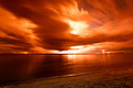 Tropical beach at beautiful sunset. - PhotoDune Item for Sale