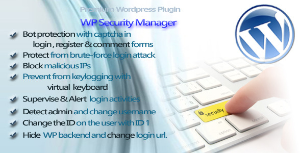 CodeCanyon WP Security Manager 5578255