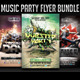 Music Party Flyer Bundle - GraphicRiver Item for Sale