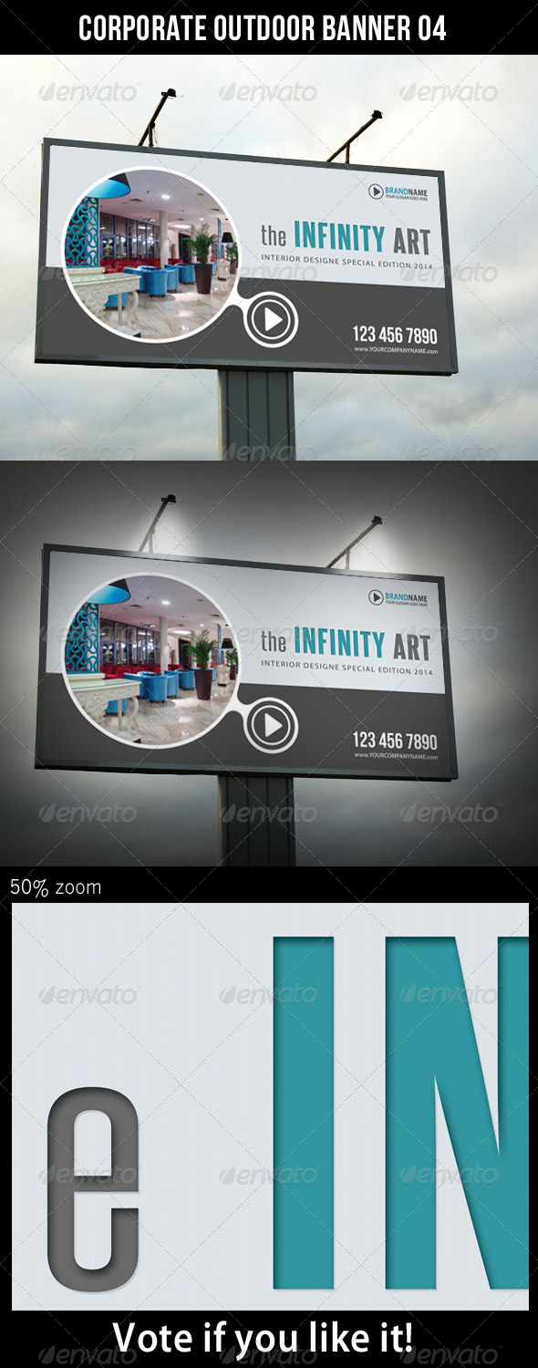 Corporate Outdoor Banner 05 - Print Templates