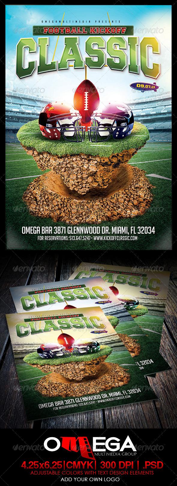 GraphicRiver Football Kickoff Classic 5565007