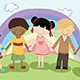 Multi Ethnic Children - GraphicRiver Item for Sale