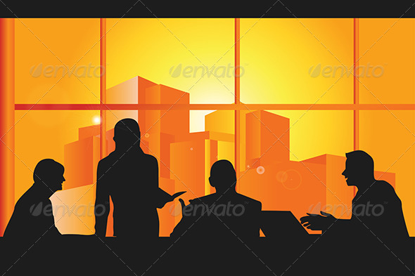 GraphicRiver Business Meeting 5616056