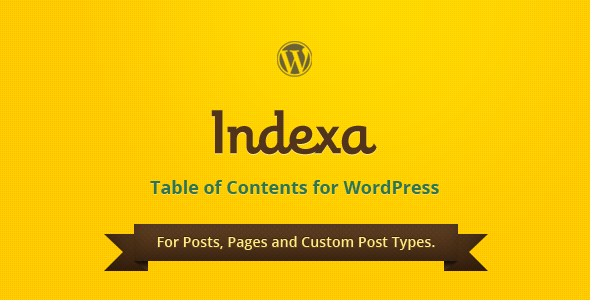 CodeCanyon Indexa Table of Contents for WordPress 5616139