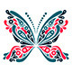 Butterfly Tattoo Set - GraphicRiver Item for Sale
