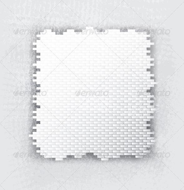 GraphicRiver Bricks Banner 5616595
