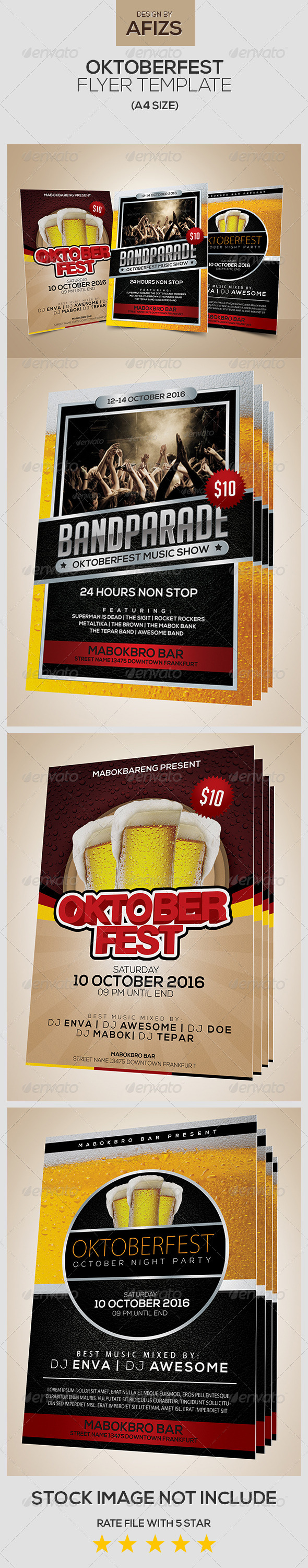 GraphicRiver Oktoberfest Event Flyer 5617170