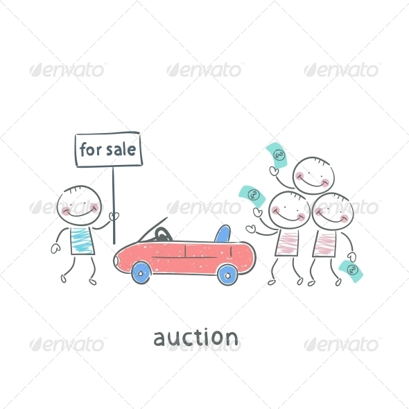 GraphicRiver Sale of Automobiles 5617339