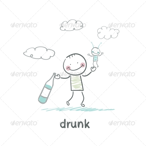 GraphicRiver Drunk 5618398