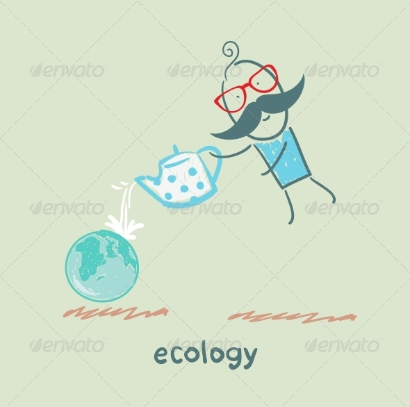GraphicRiver Ecology 5618427
