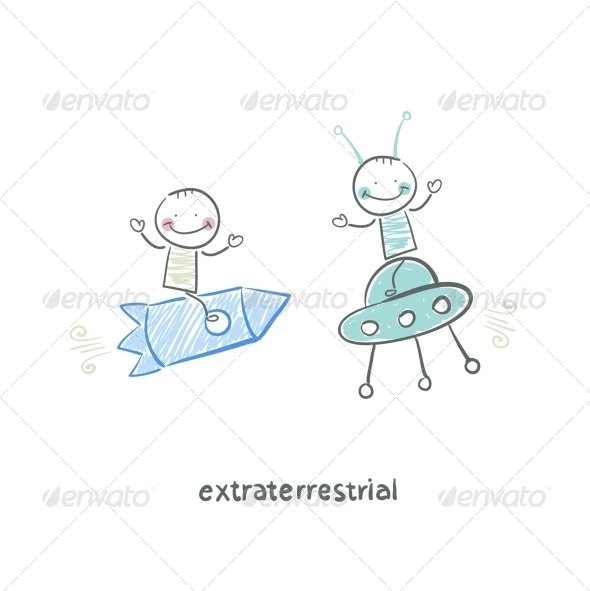 GraphicRiver Extraterrestrial 5618759