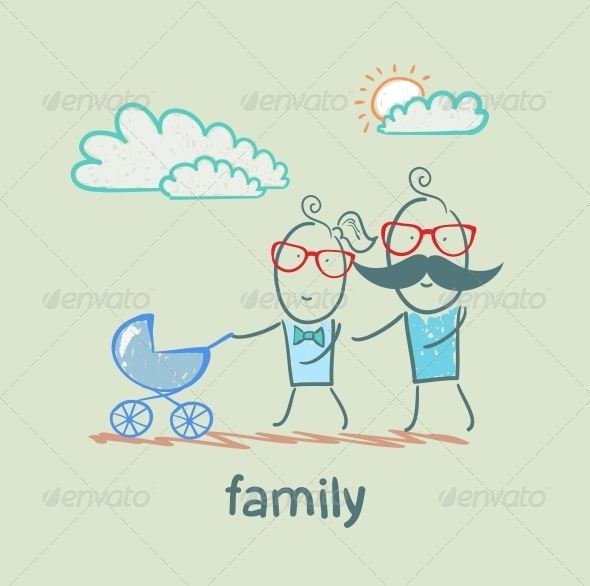 GraphicRiver Family 5618770