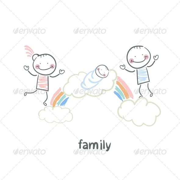 GraphicRiver Family 5618782