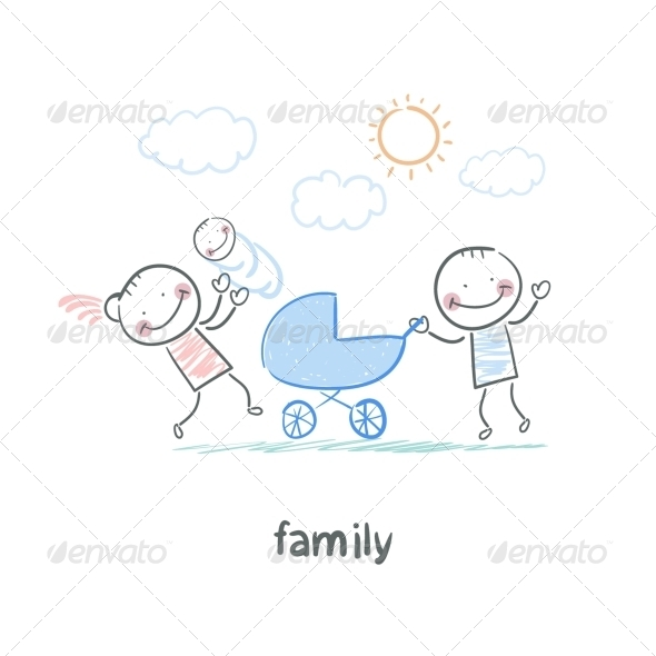 GraphicRiver Family 5618784
