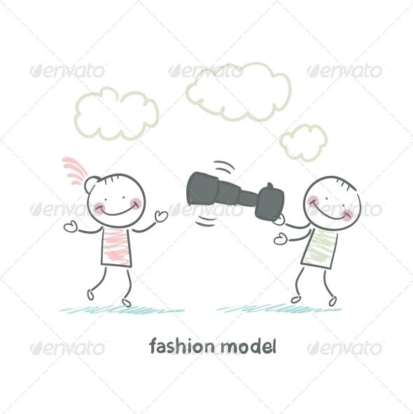 GraphicRiver Fashion Model 5618795