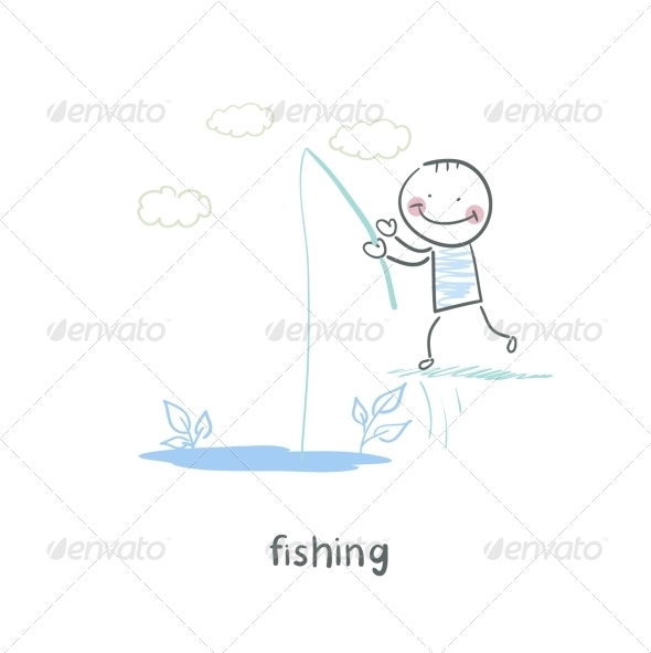 GraphicRiver Fishing 5618856