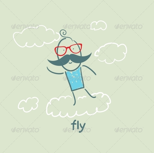 GraphicRiver Fly 5618860