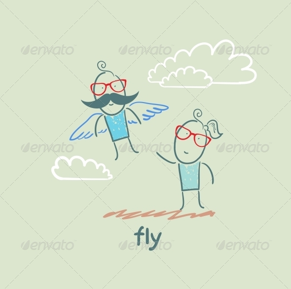 GraphicRiver Fly 5618874