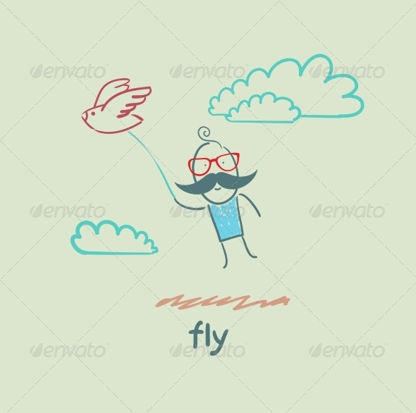GraphicRiver Fly 5618875
