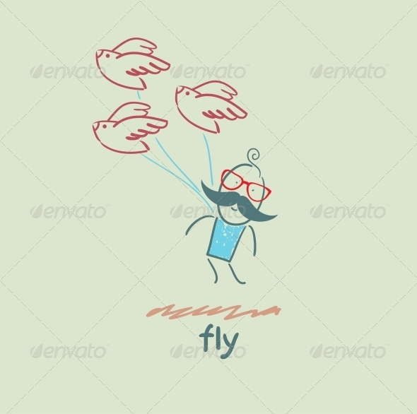 GraphicRiver Fly 5618876