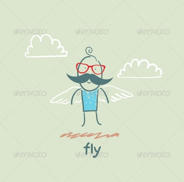 GraphicRiver Fly 5618880