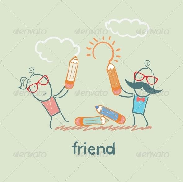 GraphicRiver Friend 5618899