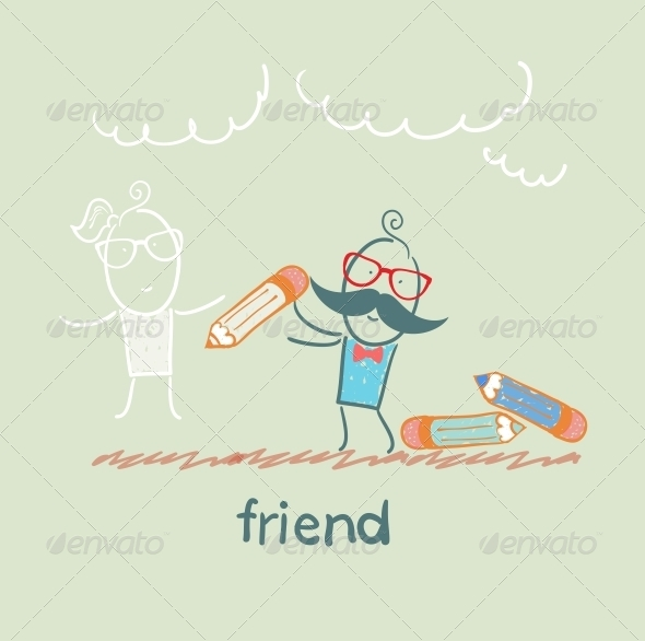 GraphicRiver Friend 5618901