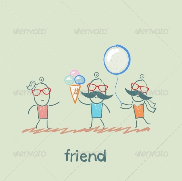 GraphicRiver Friends 5618929