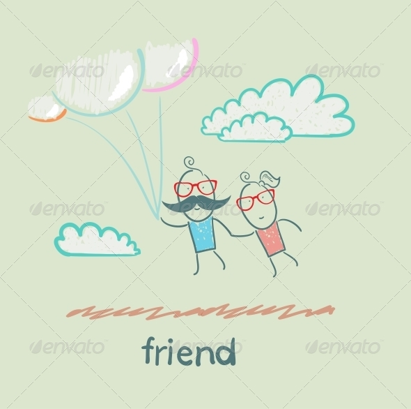 GraphicRiver Friend 5618932