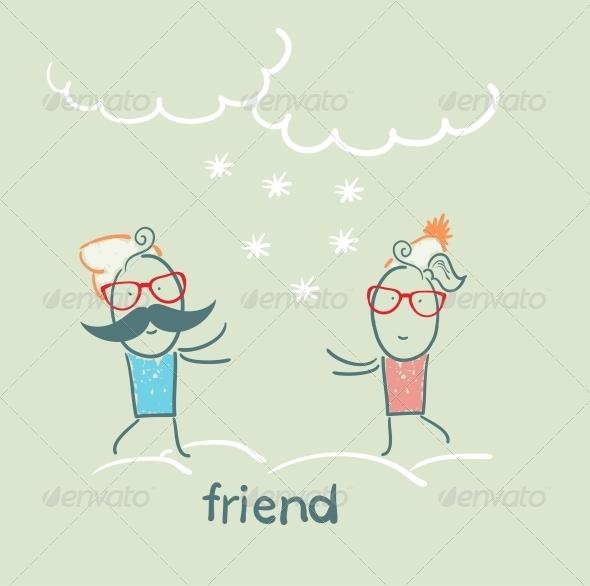 GraphicRiver Friend 5618948