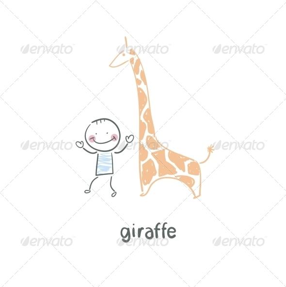 GraphicRiver Giraffe 5619008