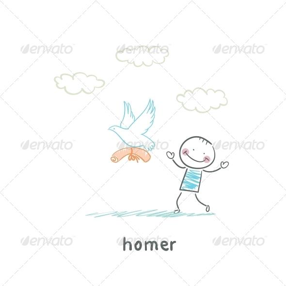 GraphicRiver Homer 5619240