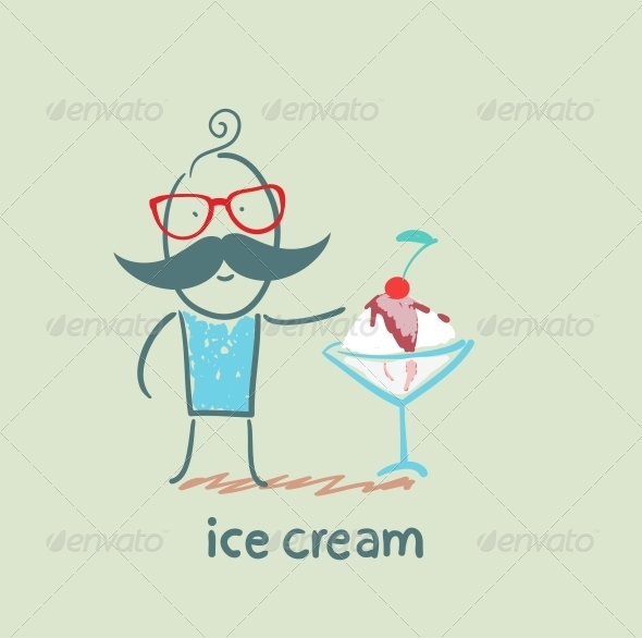 GraphicRiver Ice Cream 5619254