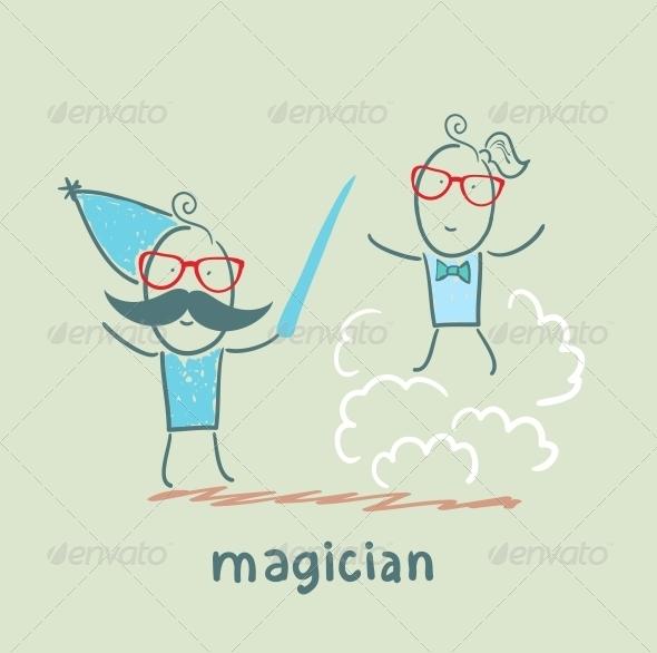 GraphicRiver Magician 5619822