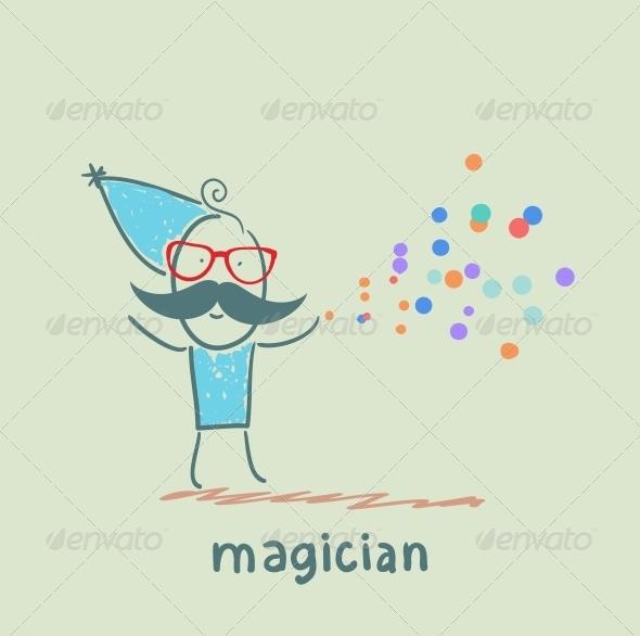 GraphicRiver Magician 5619828