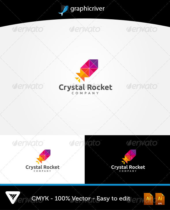 GraphicRiver Crystal Rocket 5621508