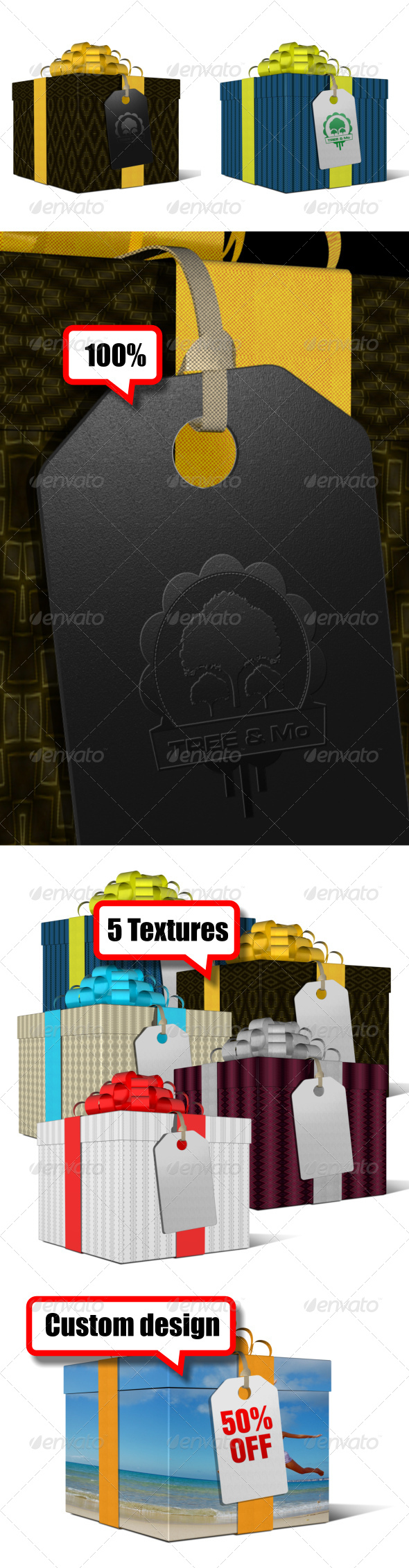 GraphicRiver Gift Box 5623302