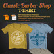 Classic Barber Shop T-Shirt - GraphicRiver Item for Sale