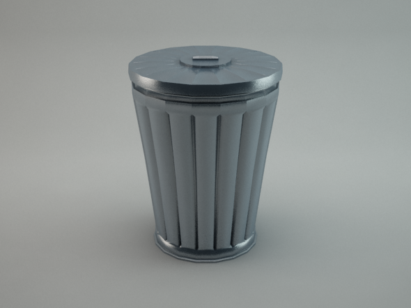 3DOcean Trash Can 5624241