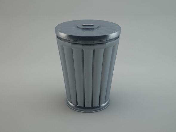 3DOcean Trash Can 5624241