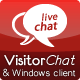 VisitorChat - PHP Chat with Web- & Windows Clients - CodeCanyon Item for Sale