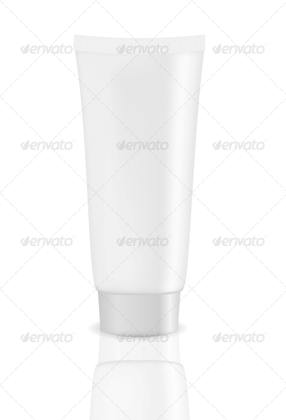 GraphicRiver White Tube Vector Illustration 5624781