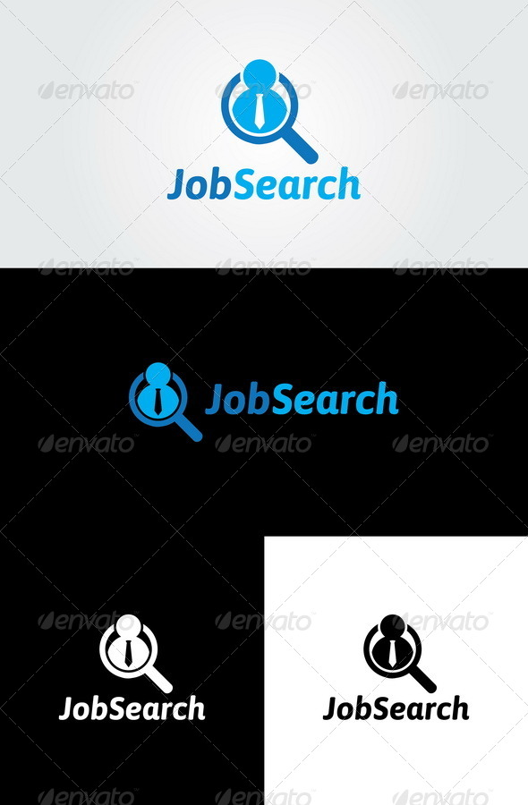 GraphicRiver Job Search Logo 5625082