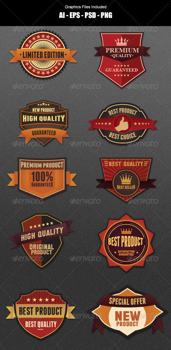 GraphicRiver Badges Design 5625446