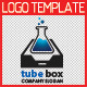 Tube Box Logo Template - GraphicRiver Item for Sale