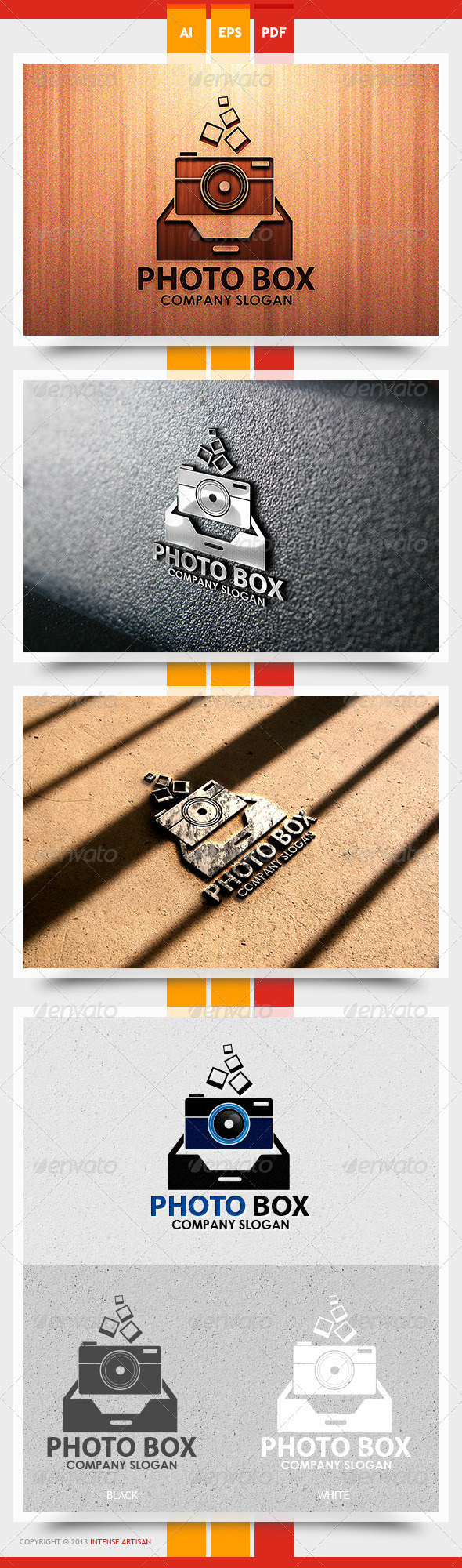 Photo Box Logo Template - Objects Logo Templates